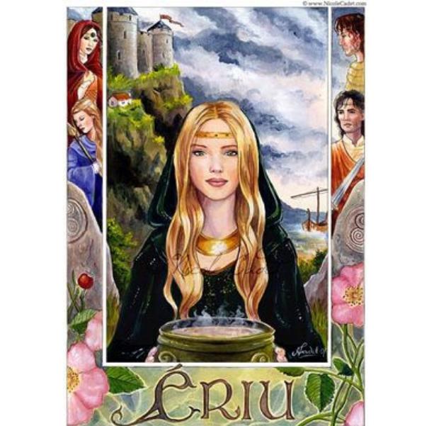 Deusa Ériu, homenageada pela Irlanda