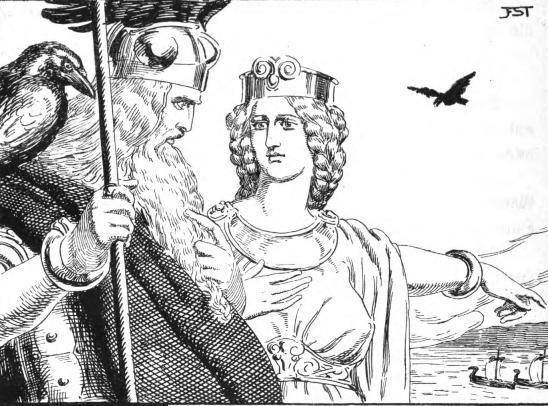 Odin e Frigg