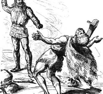 Thor e o Duelo com Hrungnir