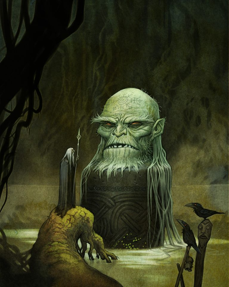 Odin e Mimir