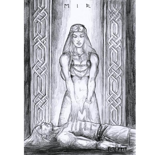 Deusa Eir, a cura e proteção nórdica para perigos e traumas