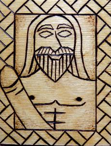 Deus Freyr. Crédito - http://ydalir.ca/norsegods/freyr/