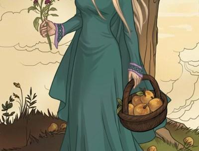 Gerd, a Bela Jotun que encantou Freyr