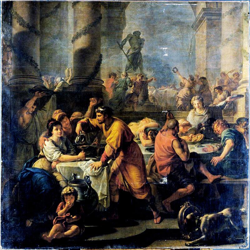 Saturnalia, por Antoine Callet