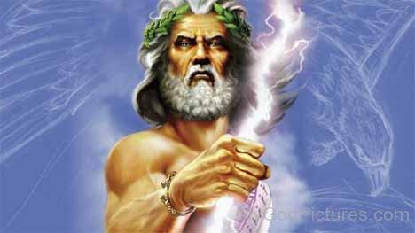 Deus Júpiter. Fonte: https://www.mygodpictures.com/god-jupiter-image/