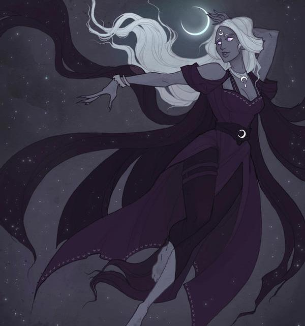 Selene, a Deusa Titã da Lua