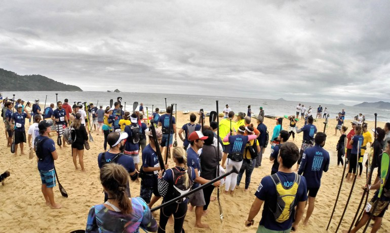 Corrida de sup Kopa King of Paddle