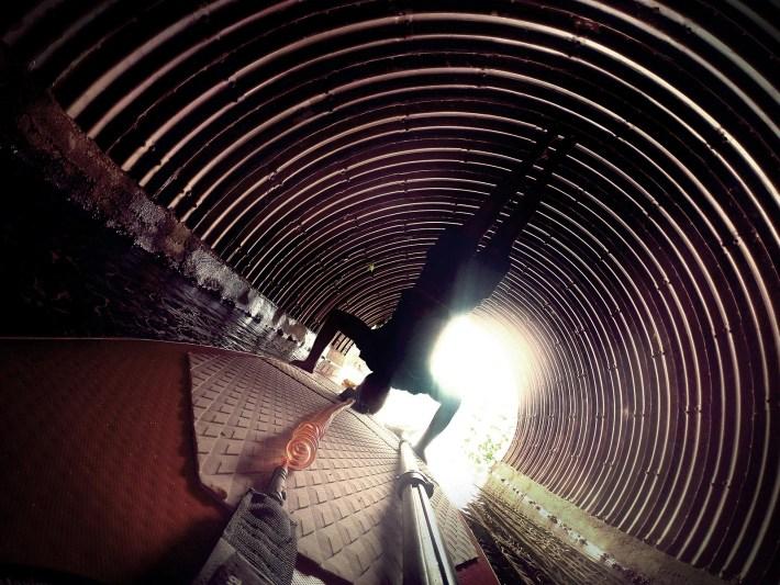 Sempre tem uma luz no fim do túnel