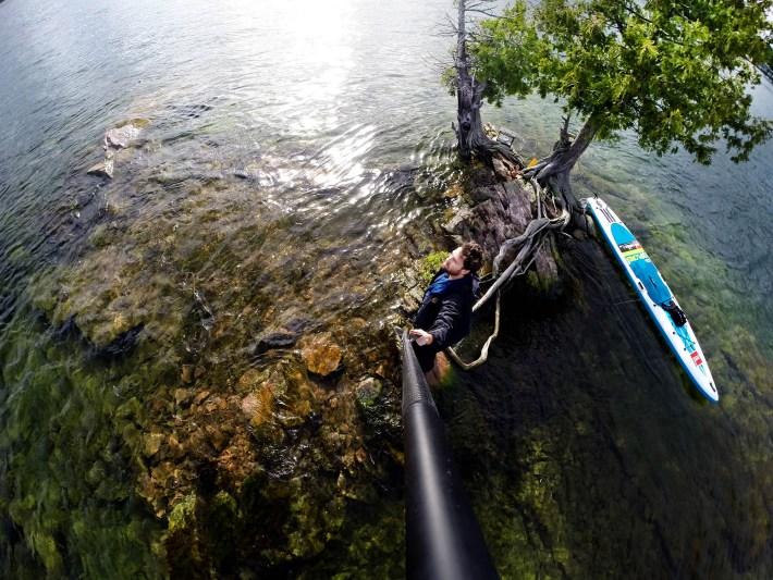 Uma das 1000 ilhas da região