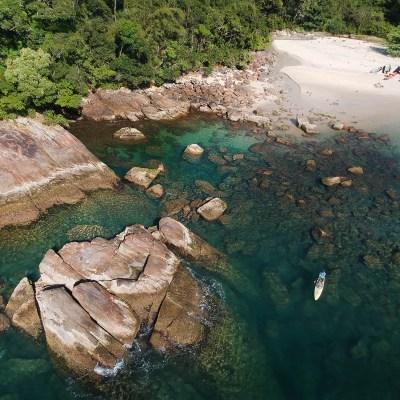 A Sereia Má da Ilha das Couves, em Ubatuba