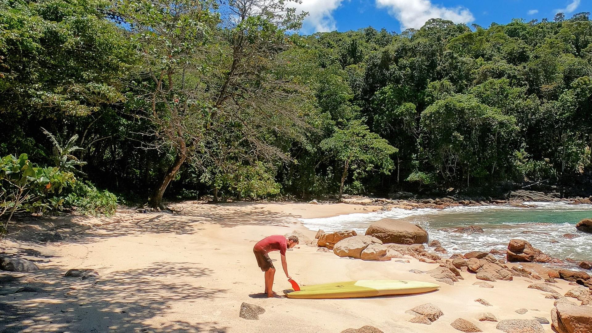 Maranduba, Quilombo, Mosteiro e Praia Deserta