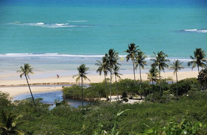 praias trancoso quadrado vista