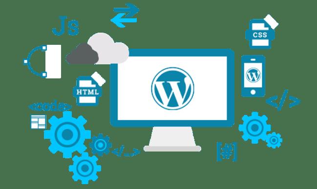 Criação, manutenção e suporte para sites WordPress