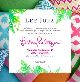 Lilly Pulitzer Lee Jofa Invitation