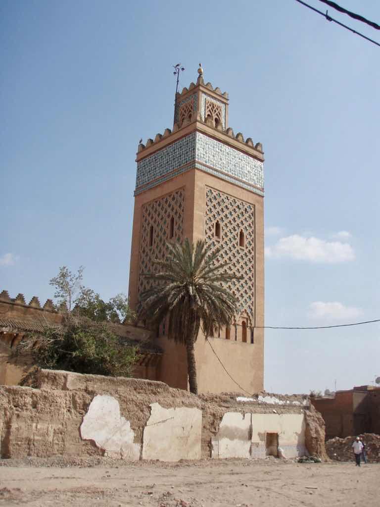 モロッコ 街並み 教会