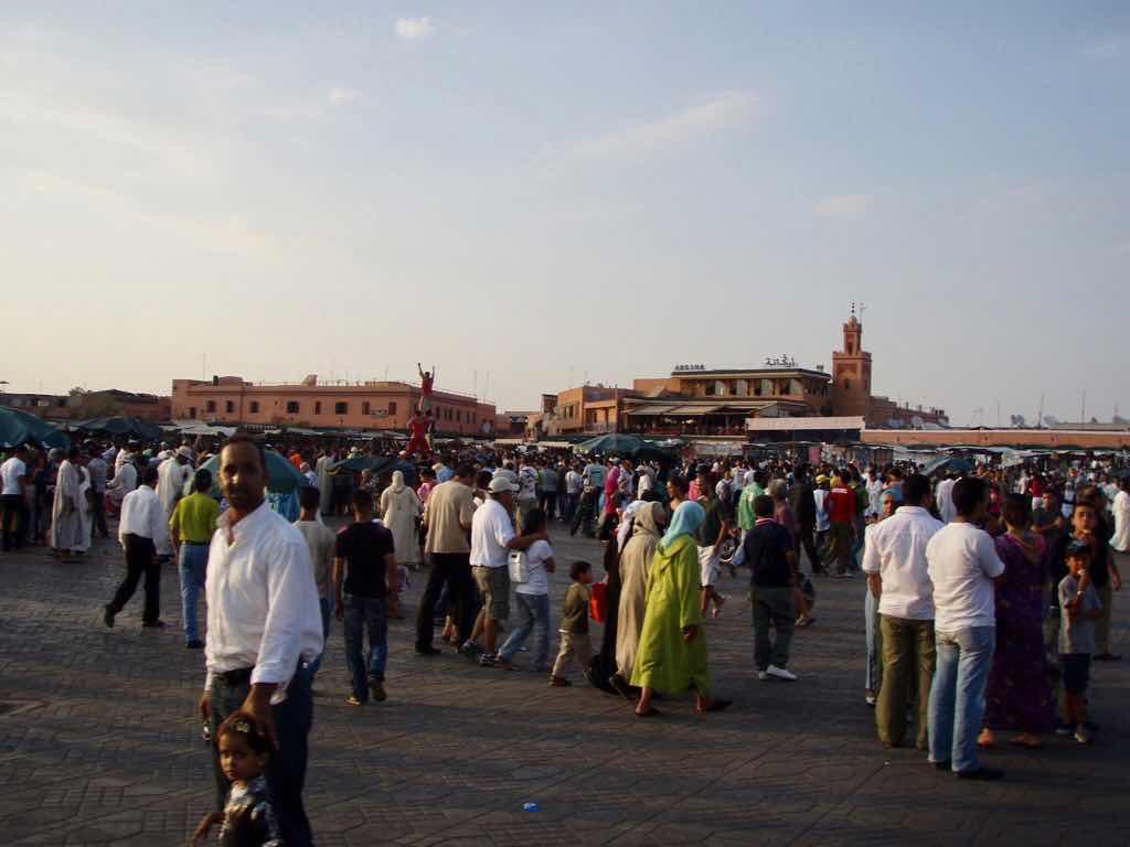 モロッコ マラケシュ バザール
