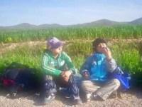 426 スペイン旅 子どもと一緒 トレス・デル・リオ サンティアゴ巡礼 休憩13