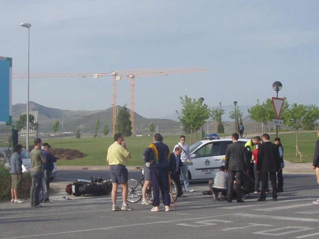 429 スペイン巡礼 子どもと海外 ナバラッテ 事故バイクnavarrete