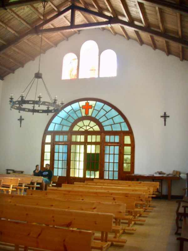602 Camino カミーノ パラスデレイ papas de rai 向かう教会 椅子