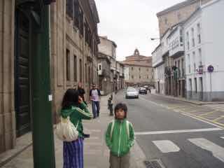 605スペイン巡礼 サンティアゴ街並み12探索 Santiago 街