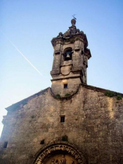 606サンティアゴ Santiago Camino 大聖堂 途中教会鐘