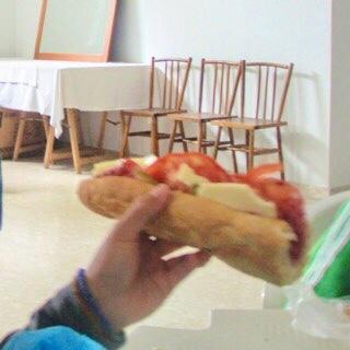 608サンティアゴ巡礼 ボカディージョ カミーノ食事 アス・マロナス