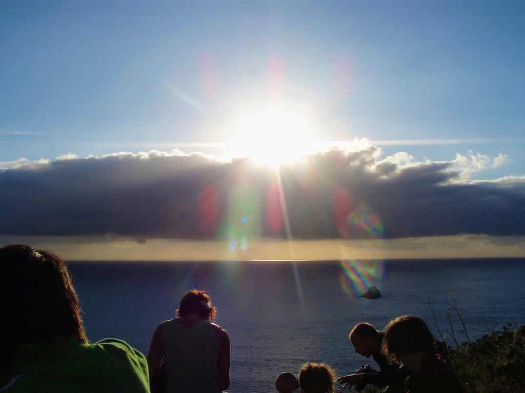 612 fisterra sunset 4 サンティアゴ巡礼