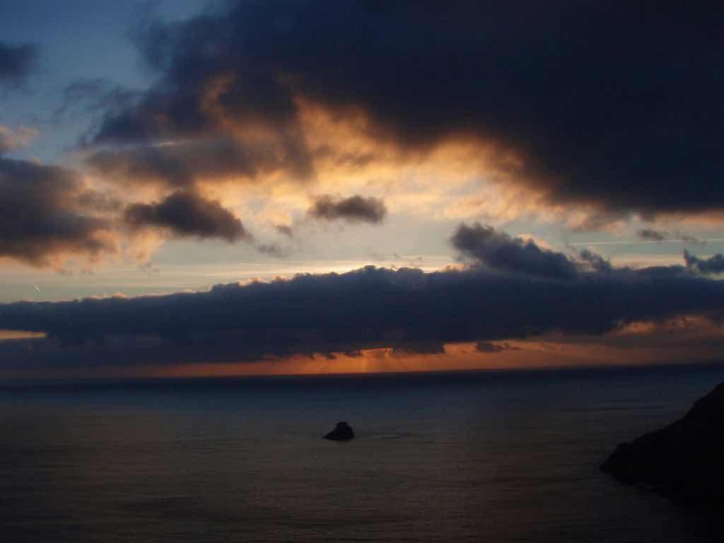 612 fisterra sunset 21 サンティアゴ巡礼