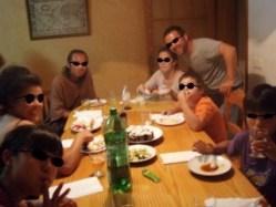 618メノルカ島Menorca ホセ家寿司テーブル