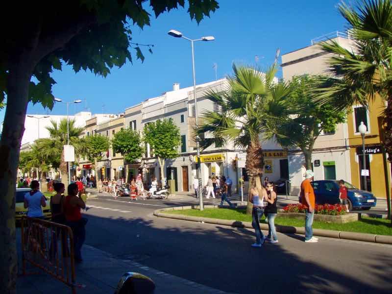 623メノルカ島 サン•フアン 馬祭り Menorca シウタデラ歩道