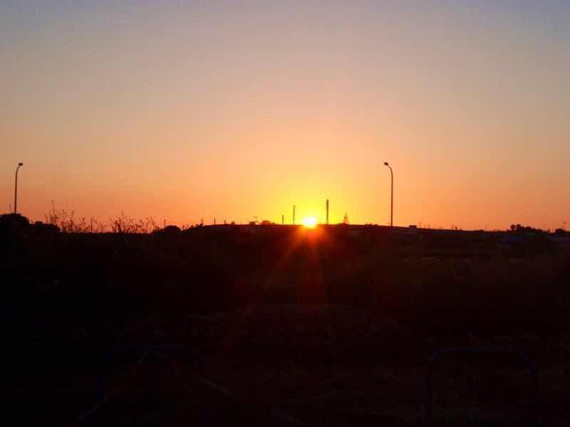 623メノルカ島 サン•フアン 馬祭り Menorca シウタデラ 太陽夕焼け
