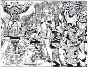Argofuckyou original Jack Kirby Argo sketch