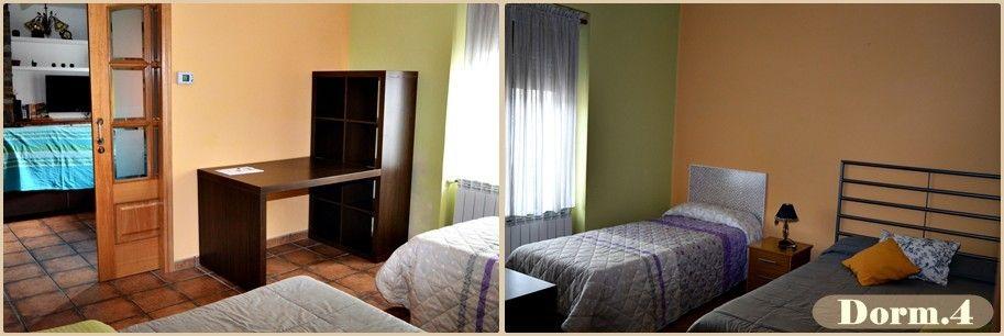 Puerta de la villa dormitorio 4