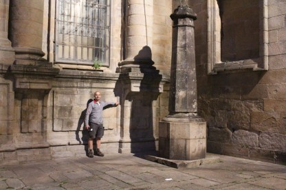 Pilgrim's shadow