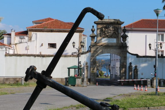 Military arsenal entrance
