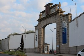 Rúa Taxonera - entrance for Naval fleet
