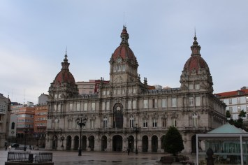 Concello da Coruña and María Pita square