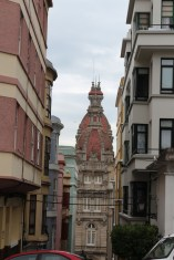 Inner streets near the historical area