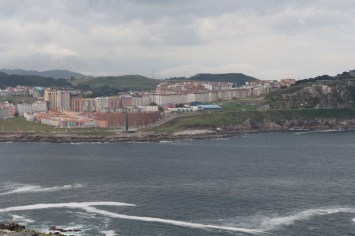 Hércoles Tower landscapes over A Coruña
