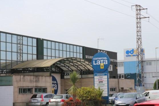 Industrial area of Santiago de Compostela