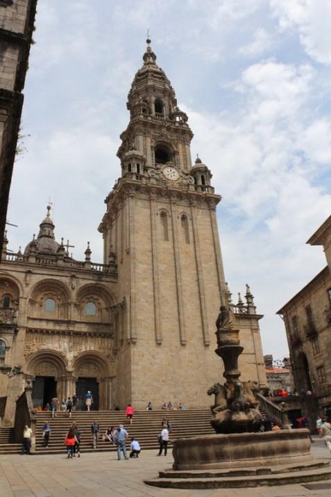 Santiago de Compostela Cathedral - Praza das Praterías