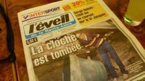Nach dem Wochenende die Schlagzeile auf Seite 1.