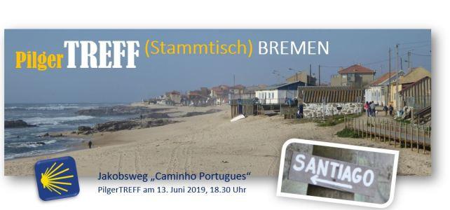13.6.2019, 18.30 Uhr - Jakobsweg PilgerTREFF (Stammtisch) BREMEN - für alle