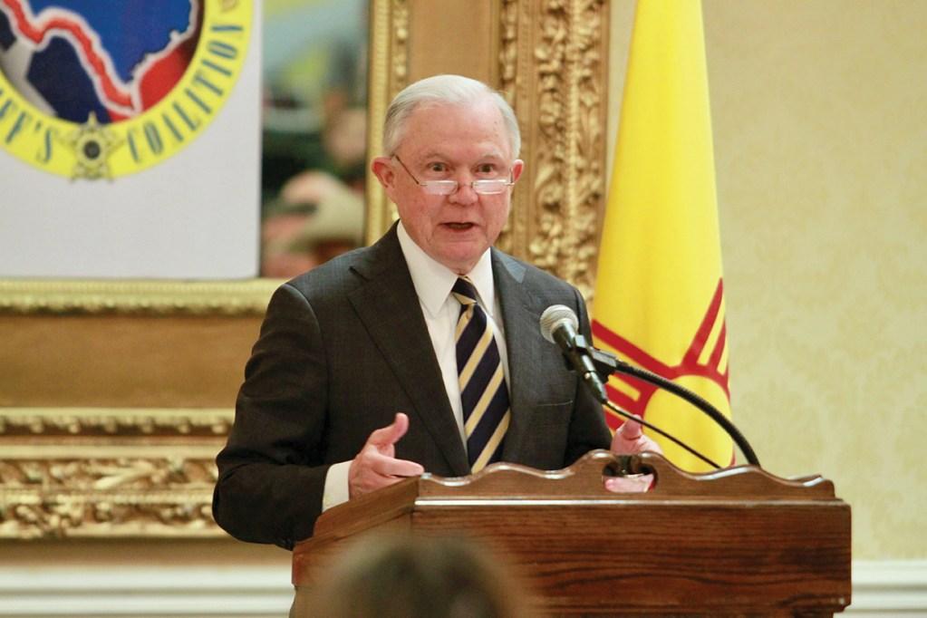 El Secretario de Justicia habló en Las Cruces