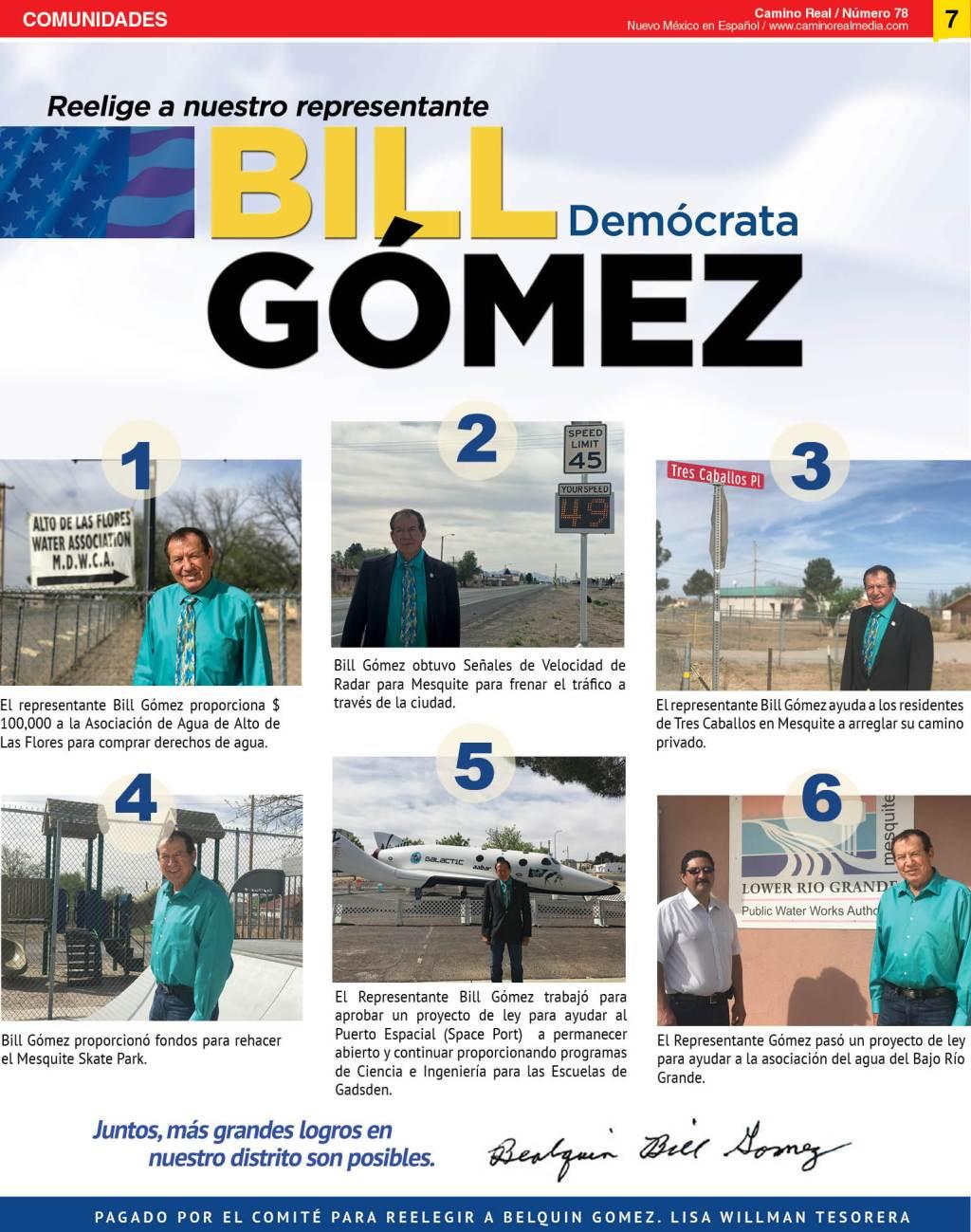 Logros de Bill Gomez