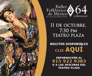 Ballet Folklórico de México en el Teatro Plaza. ¡Espectacular!