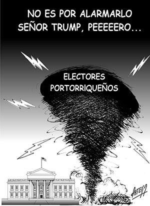 Tormenta en Puerto Rico