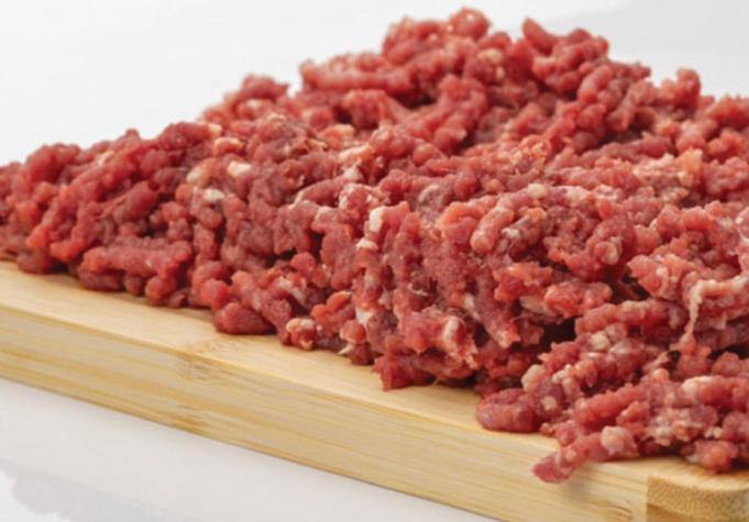 Retiran productos de carne de res molida por posible contaminación con materia extraña
