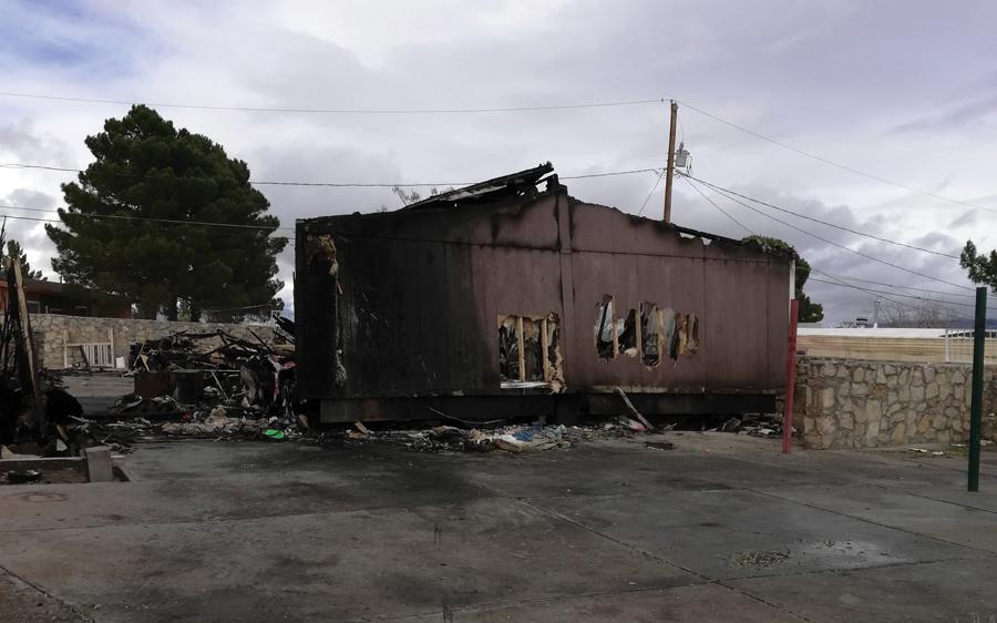 Arrestos en incendio fatal