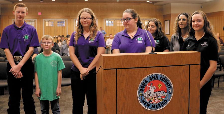 El Dona Ana County alienta la participación 4-H